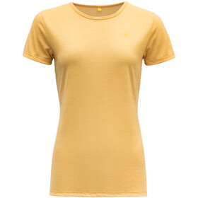Devold Valldal T-shirt Femme, honey